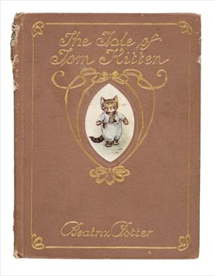 Lot 649 - Potter (Beatrix). The Tale of Tom Kitten, deluxe binding, 1907