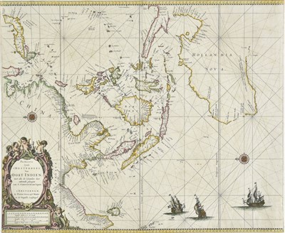 Lot 9-Autralasia. Goos (Pieter), Australia and the East Indies, [1666]