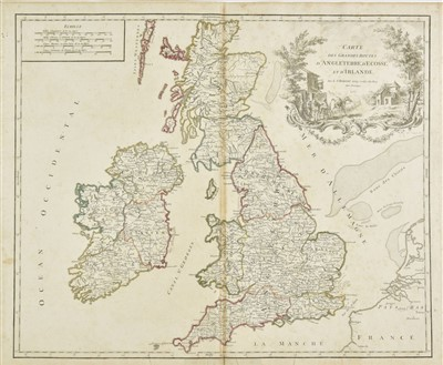 Lot 20-British Isles. A collection of fourteen maps, 18th & 19th century
