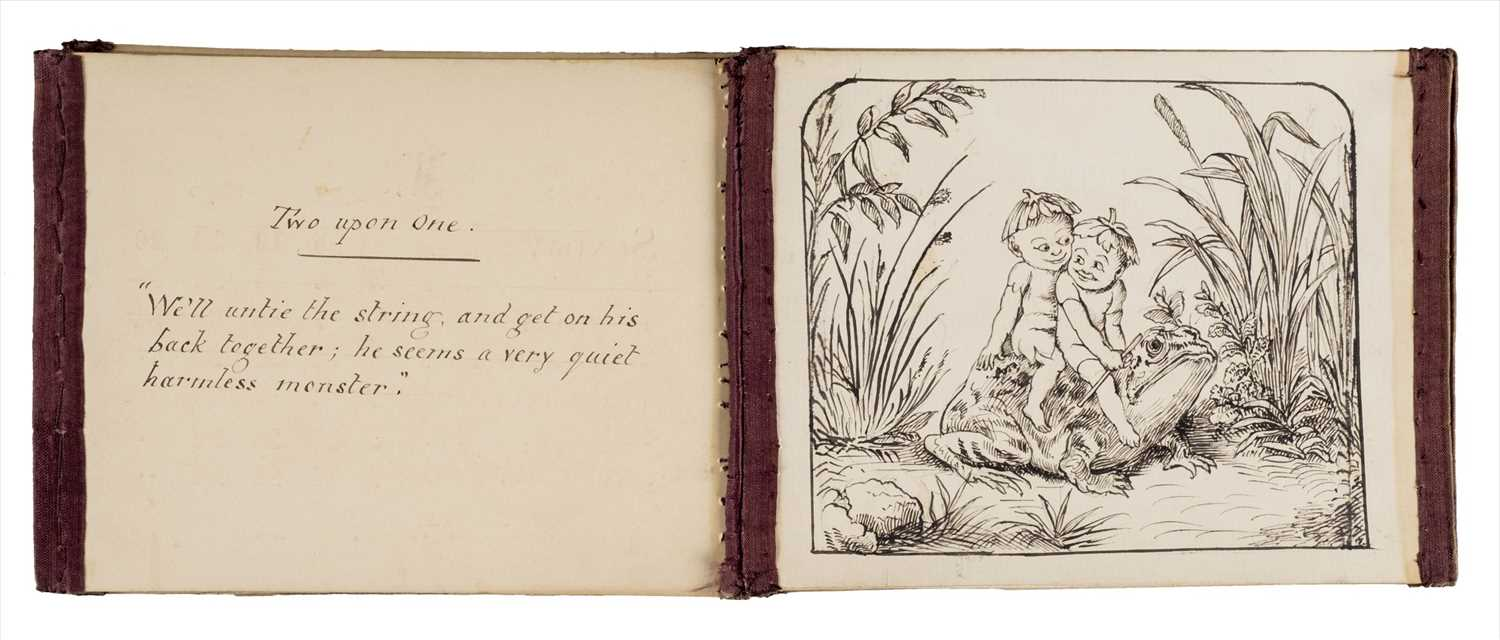 Lot 566-Manuscript. Merry Elves, circa 1870