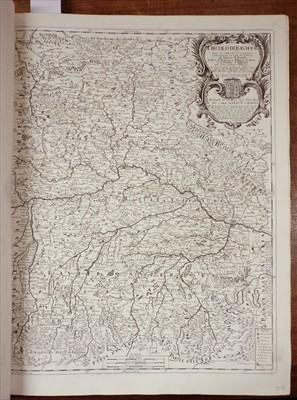 Lot 143 - Rossi (Giacomo Giovanni de). Atlas Mercurio Geografico, circa 1692