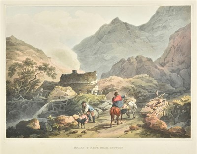Lot 96 - British topography. A collection of approximately sixty-five prints, 19th century