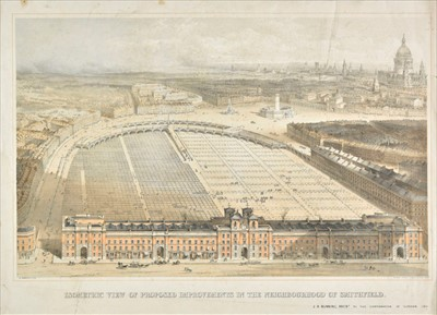 Lot 95 - British topographical views. A collection of approximately sixty-five prints, 18th & 19th century