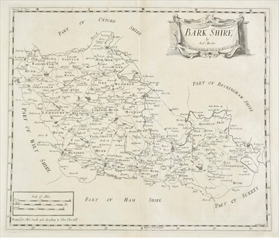 Lot 56 - Morden (Robert). A collection of thirty-nine maps, circa 1695