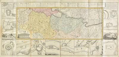 Lot 3 - Balkans. Homann (Johann Baptist, heirs of). Regnum Bosniae.., circa 1740