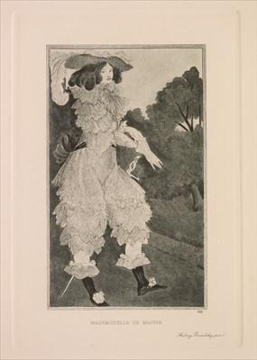 Lot 601 - Beardsley (Aubrey). Six Drawings illustrating Mademoiselle de Maupin, 1898