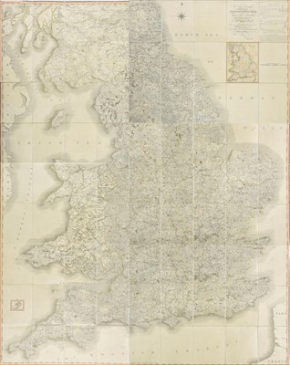 Lot 30-England & Wales. Cary (John), Cary's New Map of England and Wales, 1794