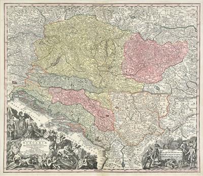 Lot 46 - Hungary. Seutter (George Matthaus), Hungariae, circa 1745