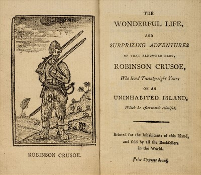 Lot 561 - Defoe (Daniel). The Wonderful Life of Robinson Crusoe, 1794