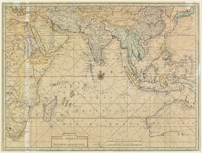 Lot 48-Indian Ocean.  Valentijn (F.),  Tabula Indiae Orientalis..., circa 1726