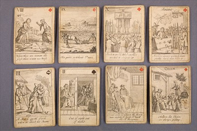 Lot 543 - Playing Cards. Proverbial Cards, [John Lenthall], between 1718 & 1744