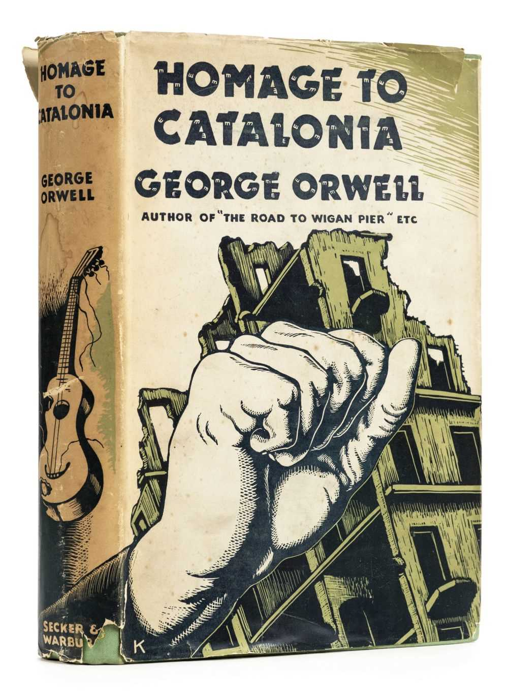 Lot 853-Orwell (George). Homage to Catalonia, 1st edition, Secker & Warburg, 1938