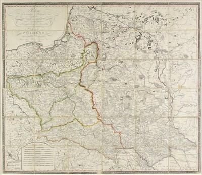 Lot 63 - Poland.  Rizzi-Zannoni (Giovanni Antonio). Polen..., Vienna, 1807