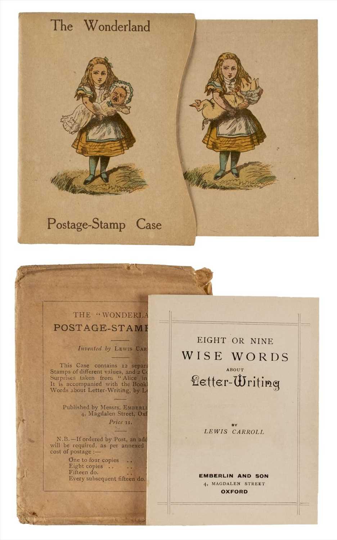 Lot 610 - Dodgson (Charles Lutwidge, 'Lewis Carroll'). The Wonderland Postage Stamp Case, 1890 [but later]