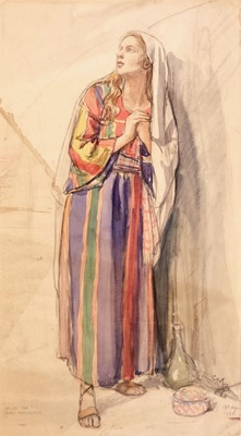 Lot 662 - Barker (Cicely Mary, 1895-1973). Study for Mary Magdalene, 1935