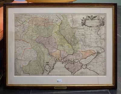 Lot 27-Eastern Europe. Facius J. G. & G. S.), ..., Partie d'une L'Empire de Russie..., 1769