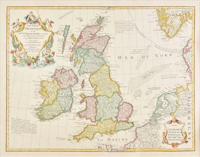 Lot 12 - British Isles. De L'Isle (Guillaume), Les Isles Britanniques, 1772