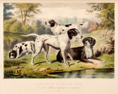 Lot 11-Miles (Henry Downes). English Country Life, c.1870