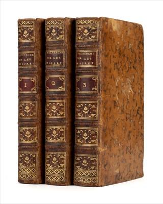 Lot 14 - Chenier (Louis de). Recherches historiques sur les Maures et le Maroc, 1st edition, 1787