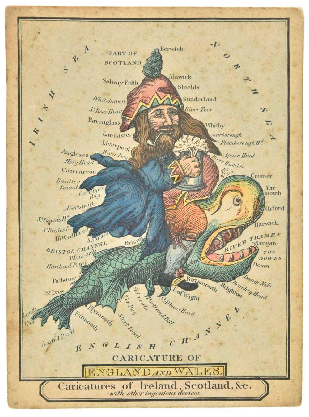 Lot 33-England & Wales. Dighton (Robert, after), England and Wales, circa 1810