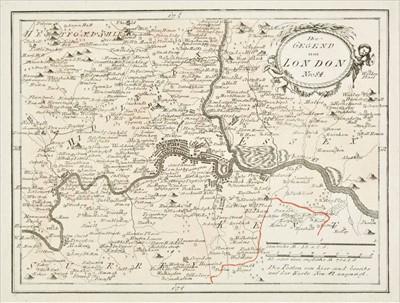 Lot 83 - Von Reilly (Franz Johann Joseph), Seven regional maps of England & Wales, circa 1790