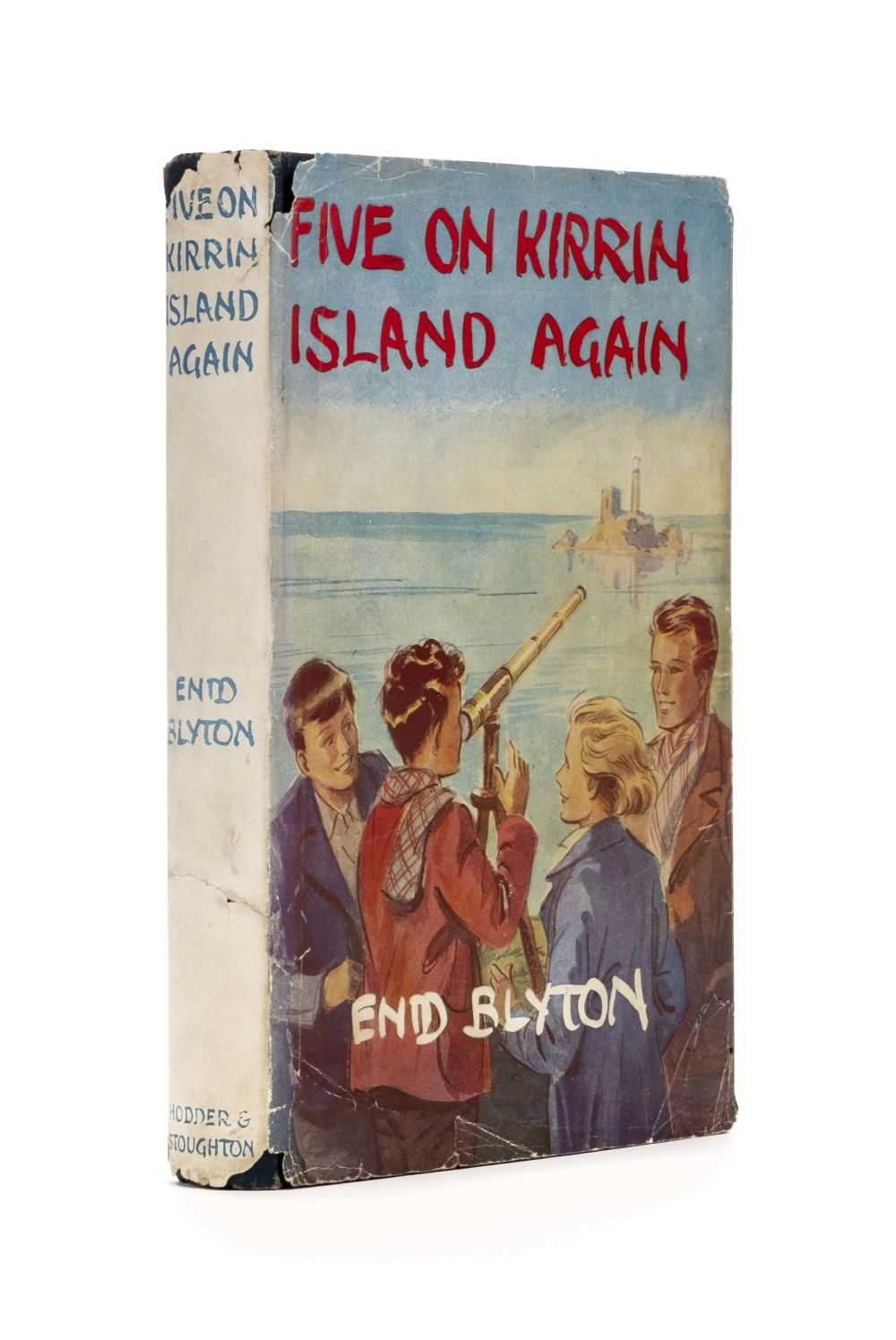 Lot 595 - Blyton (Enid). Five on Kirrin Island Again, 1st edition, Hodder & Stoughton, 1947