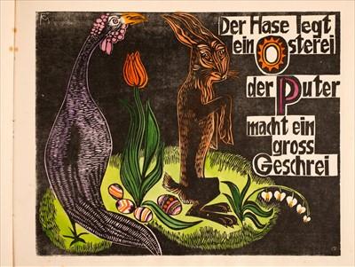 Lot 730-Felixmüller (Conrad). ABC. Ein geschütteltes geknütteltes Alphabet, 1925