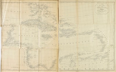 Lot 85 - West Indies. (Edwards Bryan), A new Map of the West Indies..., 1794 or later