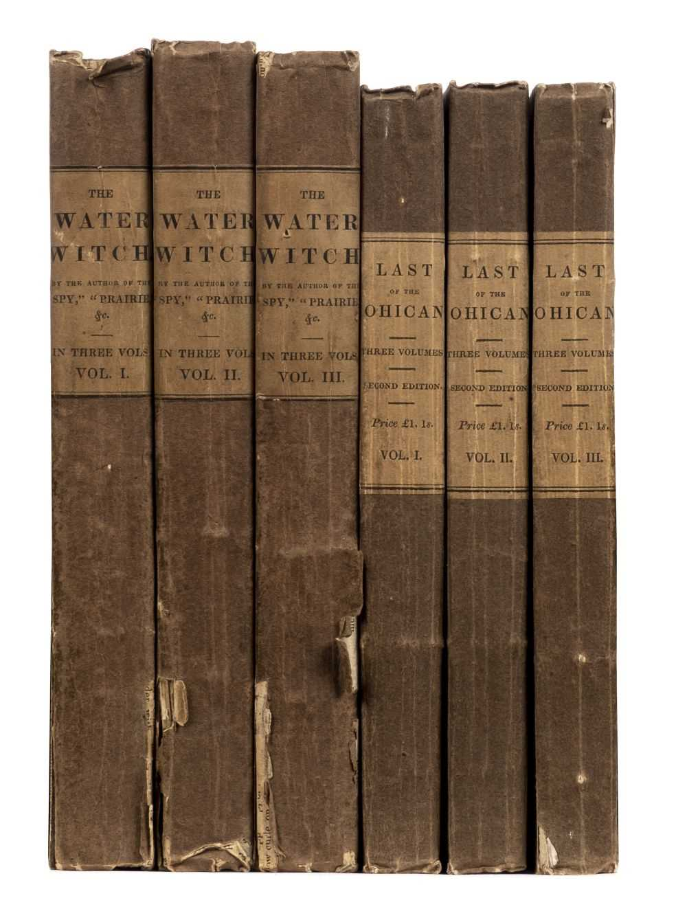 Lot 557-Cooper (James Fenimore). The Water Witch, 3 volumes 1st UK edition, 1830