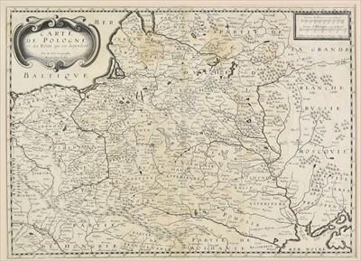 Lot 66 - Poland. Du Val (Pierre), Carte de Pologne, circa 1654