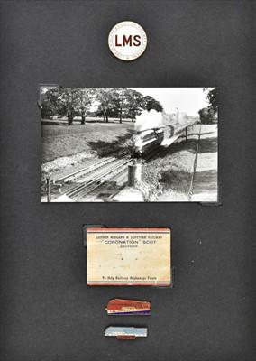 Lot 410 - Railway ephemera. An extensive collection of LMS railway ephemera