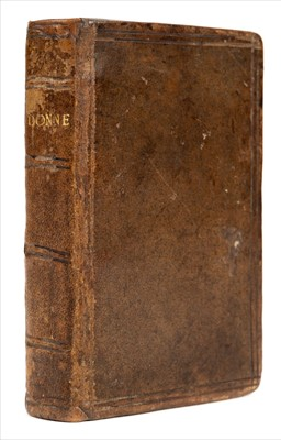 Lot 233-Donne (John). Poems, 3rd edition, 1639
