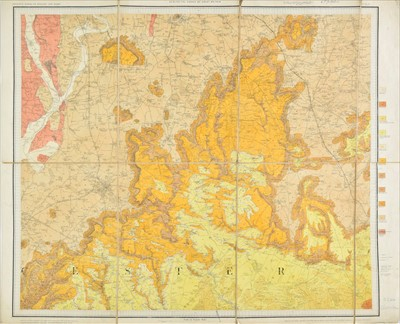 Lot 38 - Folding maps. A mixed collection of approximately 175 maps, 18th - 20th century
