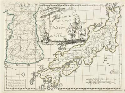 Lot 49 - Japan. Le Rouge (George Louis), Carte du Japon..., circa 1748