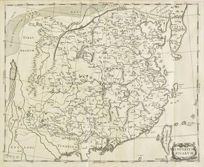 Lot 19 - China. Haffner (Melchior), Imperium Sinarum, Augsburg, circa 1688