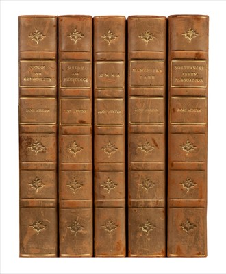Lot 526 - Austen (Jane). [The Novels],  illustrated by Hugh Thomson and Charles E. Brock, 1899-1901