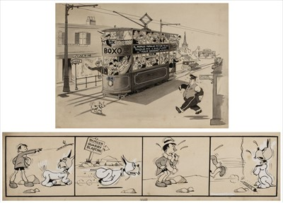 Lot 668 - Fisher (Walkden, 1913-1979). A collection of approx 80 pieces of original artwork, circa 1940s/1950s