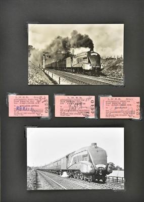 Lot 411 - Railway ephemera. An extensive collection of LNER railway ephemera