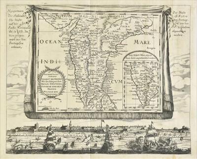 Lot 42 - Haffner (Melchior). Five engraved maps, circa 1688