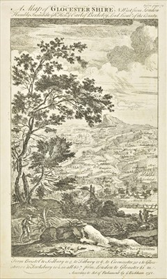 Lot 41 - Gloucestershire. A collection of forty maps, 17th - 19th century