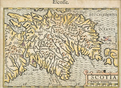 Lot 75 - Scotland, Ireland & Wales. A collection of thirty maps, 17th - 19th century