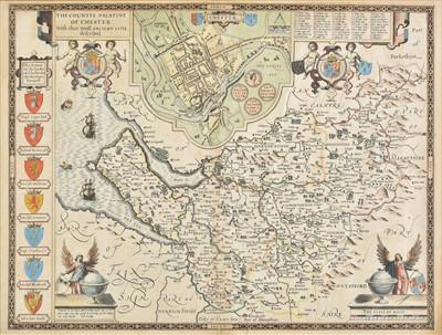 Lot 18 - Cheshire. Speed (John), The Countye Palatine of Chester..., 1616