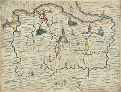 Lot 23 - Drayton (Michael). North Wales & Warwickshire, circa 1622