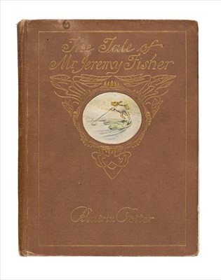 Lot 647 - Potter (Beatrix). The Tale of Mr. Jeremy Fisher, 1st deluxe edition, 1906