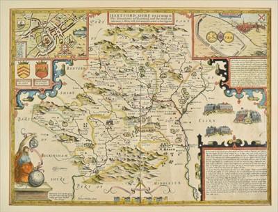 Lot 43 - Hertfordshire. Speed (John), Hartford Shire Described, 1st edition, 1611