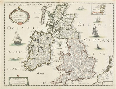 Lot 13 - British Isles. Mariette (Pierre), Novissima Descriptio Angliae, Scotiae et Hiberniae, circa 1650