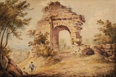 Lot 416 - Shelley Family. A group of 8 British and Italian scenes