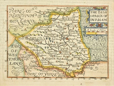Lot 24 - Durham. Bill (John), The Bishoprick of Durham, 1626