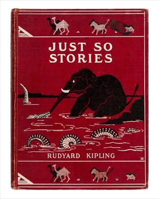 Lot 627 - Kipling (Rudyard). Just So Stories, 1st edition, 1902
