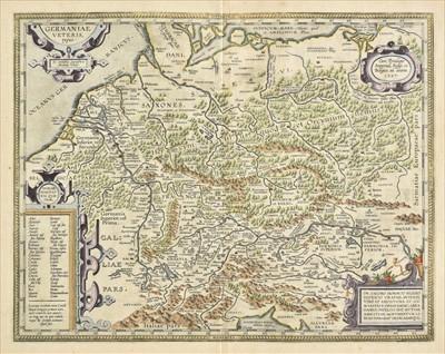 Lot 40 - Germany. Ortelius (Abraham), Germaniae Veteris Typus, 1601